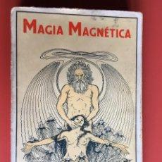 Libros antiguos: MAGIA MAGNÉTICA - TRATADO HIPNOTISMO SUPERIOR SONAMBULISMO: ÉXTASIS , ESPEJOS MÁGICOS - BAUER. Lote 197990072