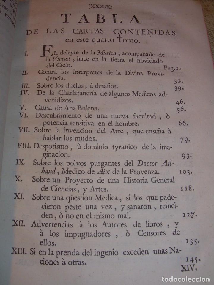 Libros antiguos: LIBRO TAPAS DE PIEL.....AÑO 1.774...BENITO FEYJOO.....VAMPIRISMO, MASONERIA,. ETC. - Foto 23 - 50944368