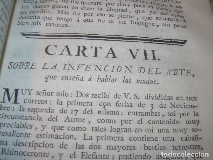 Libros antiguos: LIBRO TAPAS DE PIEL.....AÑO 1.774...BENITO FEYJOO.....VAMPIRISMO, MASONERIA,. ETC. - Foto 25 - 50944368