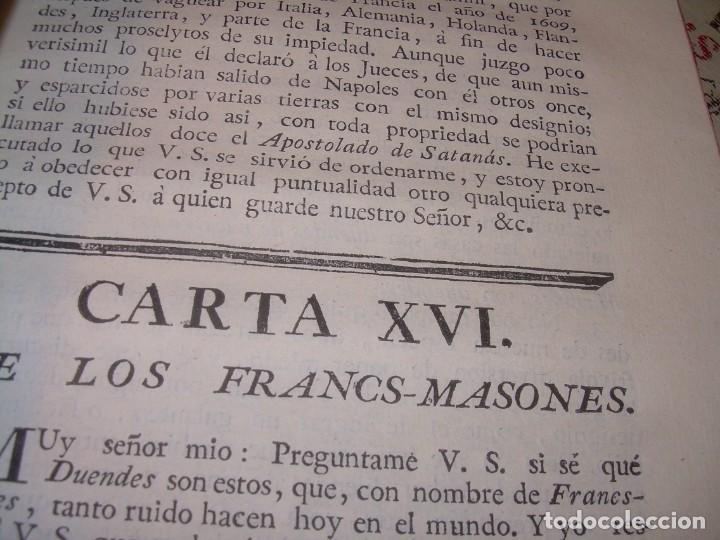 Libros antiguos: LIBRO TAPAS DE PIEL.....AÑO 1.774...BENITO FEYJOO.....VAMPIRISMO, MASONERIA,. ETC. - Foto 29 - 50944368