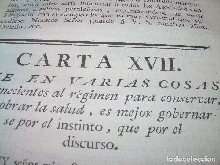 Libros antiguos: LIBRO TAPAS DE PIEL.....AÑO 1.774...BENITO FEYJOO.....VAMPIRISMO, MASONERIA,. ETC. - Foto 30 - 50944368