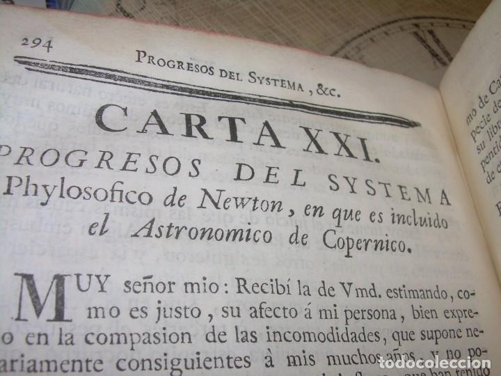 Libros antiguos: LIBRO TAPAS DE PIEL.....AÑO 1.774...BENITO FEYJOO.....VAMPIRISMO, MASONERIA,. ETC. - Foto 32 - 50944368