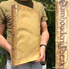 Libros antiguos: 1646 - BRUJAS - MALEFICORUM - BRUJERÍA - PRAXIS RERUM CIVILIUM - DERECHO - PERGAMINO. Lote 204074706