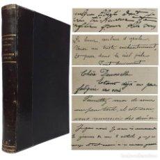 Libros antiguos: 1900 - RARO MANUAL DE GRAFOLOGÍA - ADIVINACIÓN DE LA PERSONALIDAD POR LA ESCRITURA - PSEUDOCIENCIAS. Lote 204538747