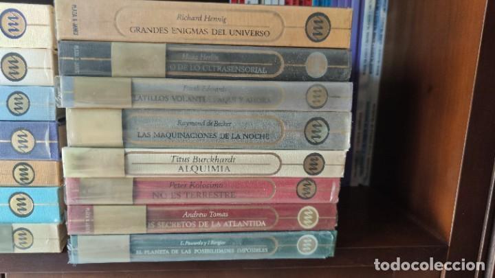 Libros antiguos: OTROS MUNDOS (PLAZA Y JANÉS) 26+1 TOMOS. COLECCIÓN MÍTICA Y ATEMPORAL - Foto 3 - 205380320