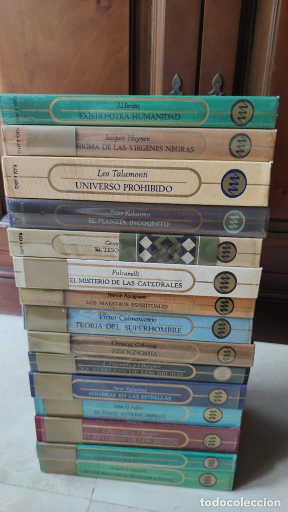 Libros antiguos: OTROS MUNDOS (PLAZA Y JANÉS) 26+1 TOMOS. COLECCIÓN MÍTICA Y ATEMPORAL - Foto 4 - 205380320