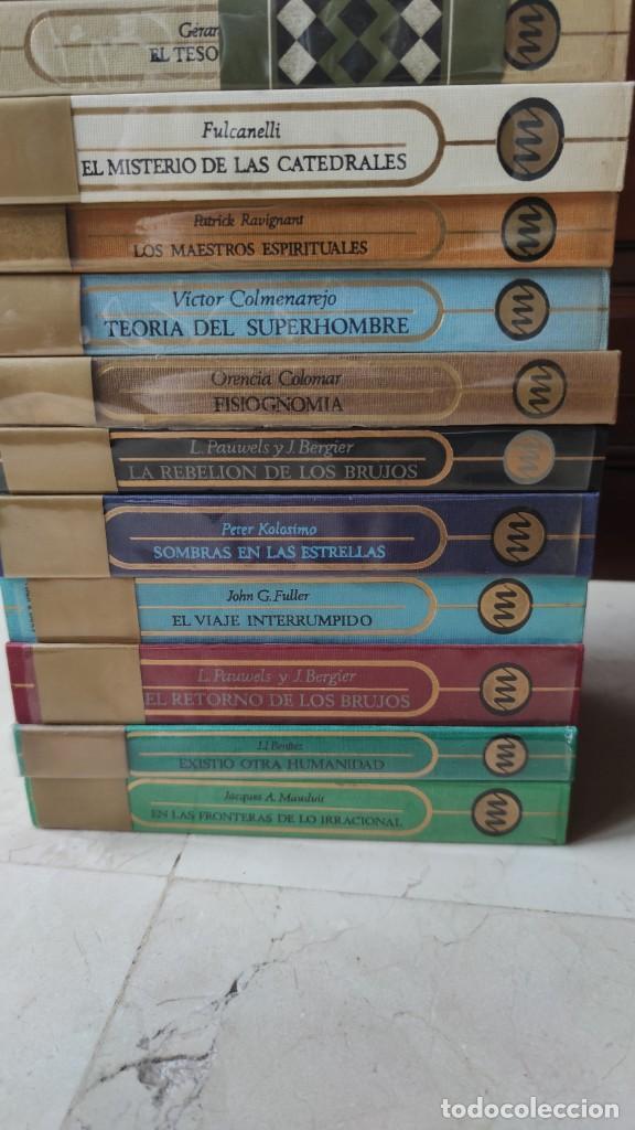 Libros antiguos: OTROS MUNDOS (PLAZA Y JANÉS) 26+1 TOMOS. COLECCIÓN MÍTICA Y ATEMPORAL - Foto 5 - 205380320