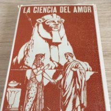 Libros antiguos: LA CIENCIA DEL AMOR. H. RIDLEY. LA MAGIA RELALACIONADA CON EL AMOR.. Lote 205396777