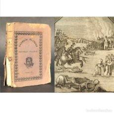 Libros antiguos: 1831 GALERIA FUNEBRE DE ESPECTROS Y SOMBRAS ENSANGRENTADAS - GORE - NOVELA TERROR GÓTICA ROMANTICISM. Lote 205453162