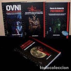 Libros antiguos: LOTE COLECCIÓN CUADERNO DE CAMPO DE MANUEL CARBALLAL. LIBROS 1, 2, 3 Y 4. MISTERIO. Lote 206196936