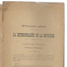 Libros antiguos: EXTERIORIZACIÓN DE LA MOTILIDAD, LA. ROCHAS, ALBERTO DE. 1900. Lote 206810278