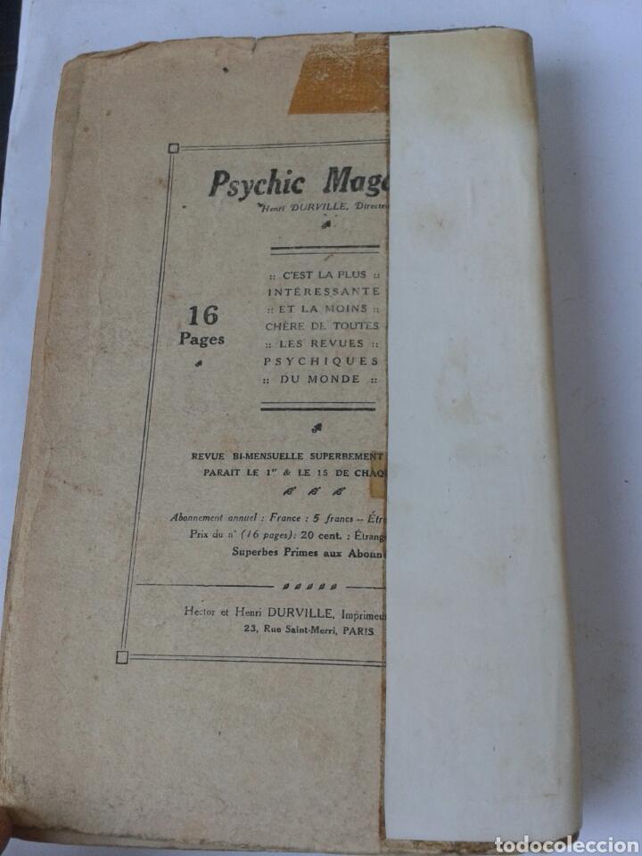 Libros antiguos: ESSAIS DE SCIENCES MAUDITES - AU SEUIL DU MYSTERE - 1915 - Foto 4 - 206904192