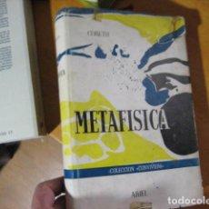 Libri antichi: METAFÍSICA: UNA FUNDAMENTACIÓN METÓDICO-SISTEMÁTICA - CORETH, EMERICH. Lote 207084436