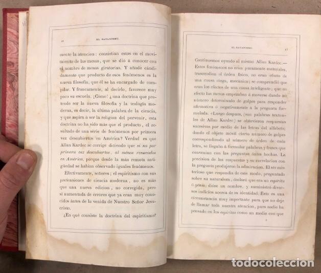 Libros antiguos: EL SATANISMO. LA CÁTEDRA DE SATANÁS. VICENTE MANTEROLA. TIP. ESPASA Y HERMANOS Y SALVAT 1879 - Foto 5 - 208321076