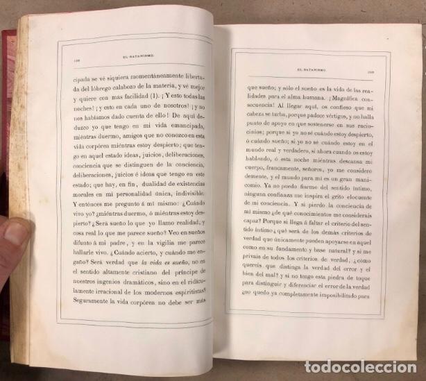 Libros antiguos: EL SATANISMO. LA CÁTEDRA DE SATANÁS. VICENTE MANTEROLA. TIP. ESPASA Y HERMANOS Y SALVAT 1879 - Foto 6 - 208321076