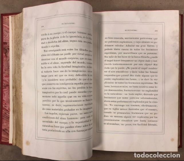 Libros antiguos: EL SATANISMO. LA CÁTEDRA DE SATANÁS. VICENTE MANTEROLA. TIP. ESPASA Y HERMANOS Y SALVAT 1879 - Foto 7 - 208321076