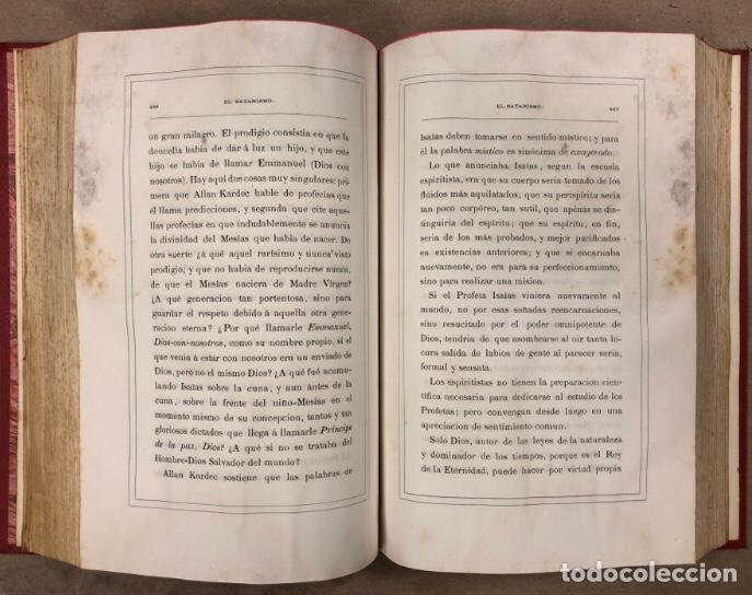 Libros antiguos: EL SATANISMO. LA CÁTEDRA DE SATANÁS. VICENTE MANTEROLA. TIP. ESPASA Y HERMANOS Y SALVAT 1879 - Foto 8 - 208321076