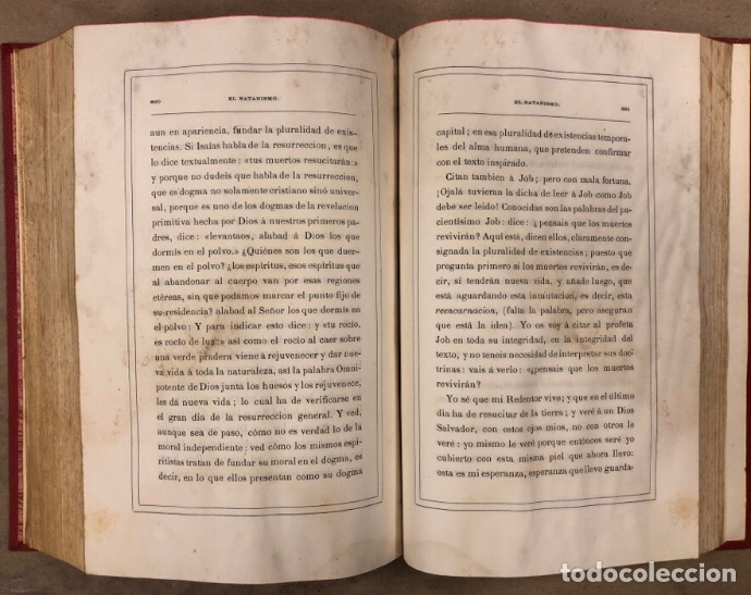 Libros antiguos: EL SATANISMO. LA CÁTEDRA DE SATANÁS. VICENTE MANTEROLA. TIP. ESPASA Y HERMANOS Y SALVAT 1879 - Foto 9 - 208321076