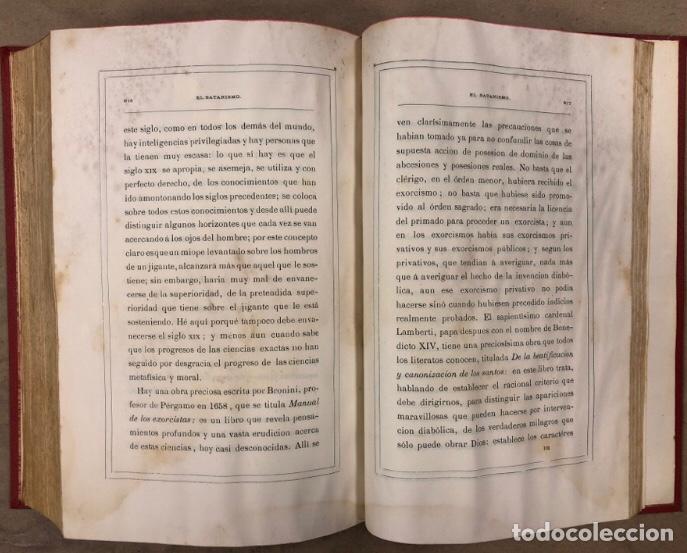 Libros antiguos: EL SATANISMO. LA CÁTEDRA DE SATANÁS. VICENTE MANTEROLA. TIP. ESPASA Y HERMANOS Y SALVAT 1879 - Foto 10 - 208321076