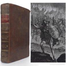 Libri antichi: 1827 - MITOLOGÍA GRIEGA, VIAJES - LAS AVENTURAS DE TELÉMACO, HIJO DE ULISES - 12 PRECIOSAS LÁMINAS. Lote 208384767