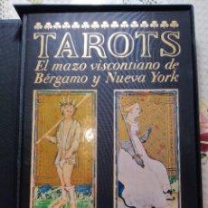 Libri antichi: TAROTS. EL MAZO VISCONTIANO DE BÉRGAMO Y NUEVA YORK. EL CASTILLO DE LOS DESTINOS CRUZADOS. FMR. Lote 209127155