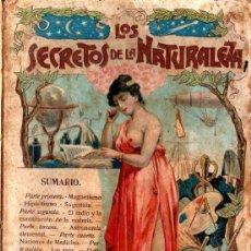 Libros antiguos: LOS SECRETOS DE LA NATURALEZA - MAGNETISMO, HIPNOTISMO, SUGESTIÓN (MAUCCI, C. 1900). Lote 211965513