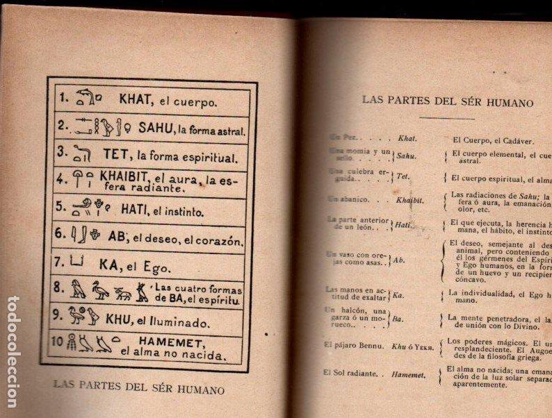 Libros antiguos: LA MAGIA EGIPCIA (BIBLIOTECA ORIENTALISTA, 1902) - Foto 2 - 212280467