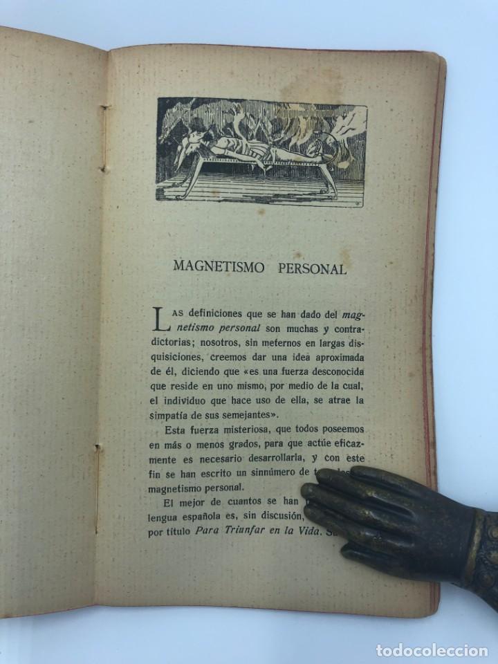Libros antiguos: DAVID PERRY. EL ARTE DE MAGNETIZAR AL ALCANCE DE TODOS. 1922 - Foto 3 - 213548766