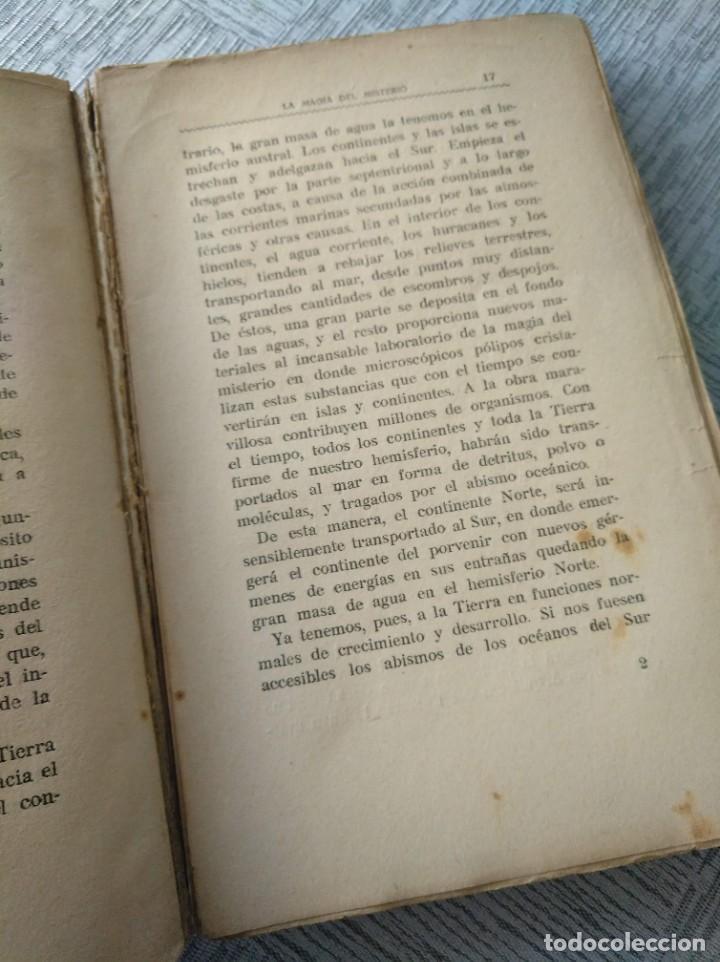 Libros antiguos: LA MAGIA DEL MISTERIO, OBRA DE J. BLANCO-CORIS - Foto 4 - 214050105