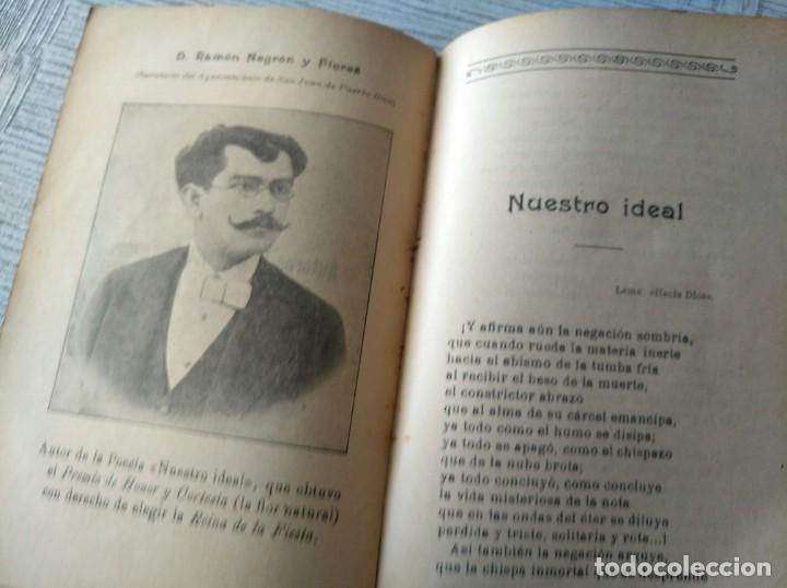 Libros antiguos: MUY RARO: JUEGOS FLORALES ESPIRITISTAS (BARCELONA, 1902) - ÁLBUM RESEÑA DE DICHA FIESTA - Foto 3 - 214051093