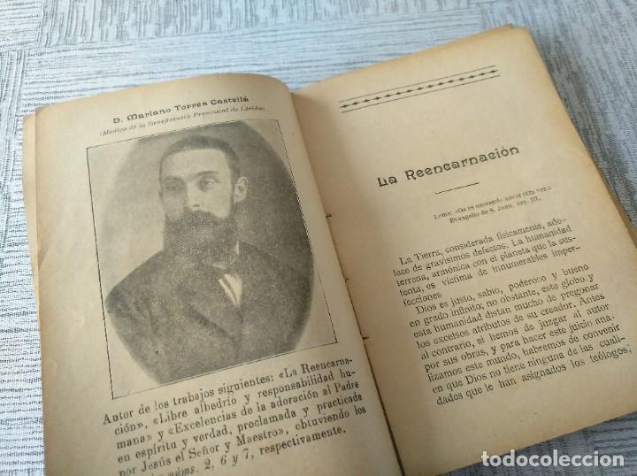 Libros antiguos: MUY RARO: JUEGOS FLORALES ESPIRITISTAS (BARCELONA, 1902) - ÁLBUM RESEÑA DE DICHA FIESTA - Foto 4 - 214051093