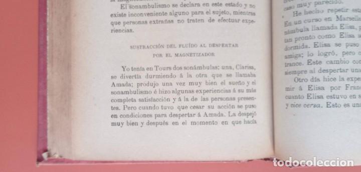 Libros antiguos: EL ARTE DE MAGNETIZAR - ESPIRITISMO - MAGNETISMO - HIPNOTISMO - TEOSOFÍA - OCULTISMO -CH. LAFONTAINE - Foto 7 - 215500641