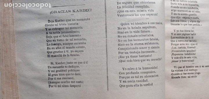 Libros antiguos: LA REVELACION - REVISTA ESPIRITISTA - 1878 - 1879 - 1880 - 3 AÑOS COMPLETOS - Foto 9 - 215831236