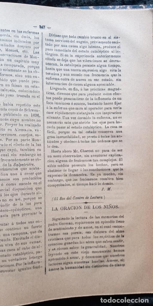Libros antiguos: LA REVELACION - REVISTA ESPIRITISTA - 1878 - 1879 - 1880 - 3 AÑOS COMPLETOS - Foto 14 - 215831236