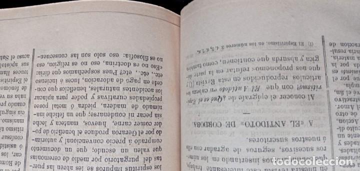 Libros antiguos: LA REVELACION - REVISTA ESPIRITISTA - 1878 - 1879 - 1880 - 3 AÑOS COMPLETOS - Foto 22 - 215831236