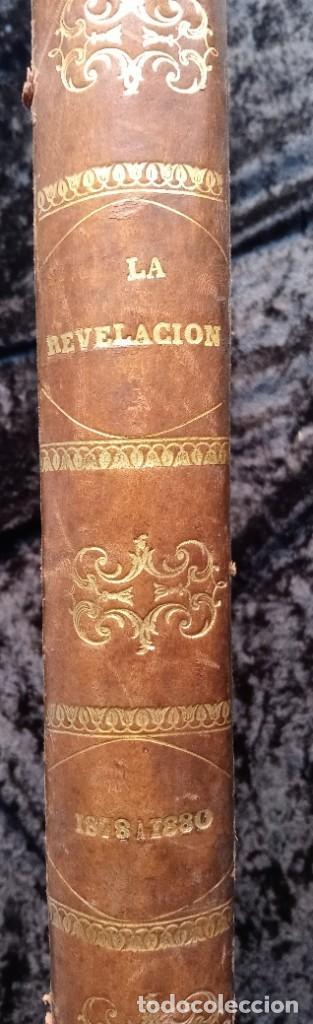 Libros antiguos: LA REVELACION - REVISTA ESPIRITISTA - 1878 - 1879 - 1880 - 3 AÑOS COMPLETOS - Foto 25 - 215831236