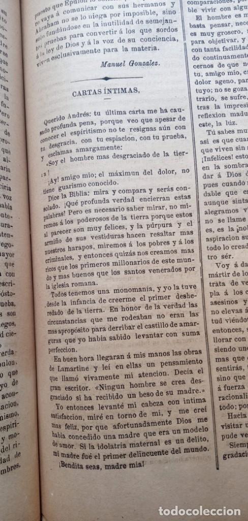 Libros antiguos: LA REVELACION - REVISTA ESPIRITISTA - 1878 - 1879 - 1880 - 3 AÑOS COMPLETOS - Foto 26 - 215831236