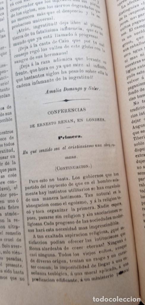 Libros antiguos: LA REVELACION - REVISTA ESPIRITISTA - 1878 - 1879 - 1880 - 3 AÑOS COMPLETOS - Foto 27 - 215831236