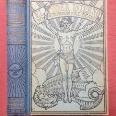 Libros antiguos: EL PODER INTERNO - ATKINSON/BEALS.. Lote 216013248