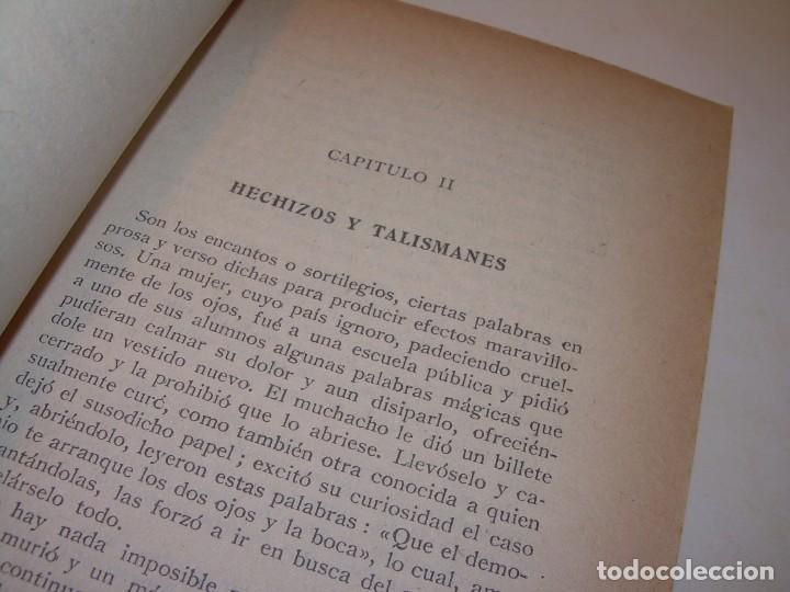 Libros antiguos: ENCICLOPEDIA DE LAS CIENCIAS OCULTAS..1936. - Foto 3 - 218780502