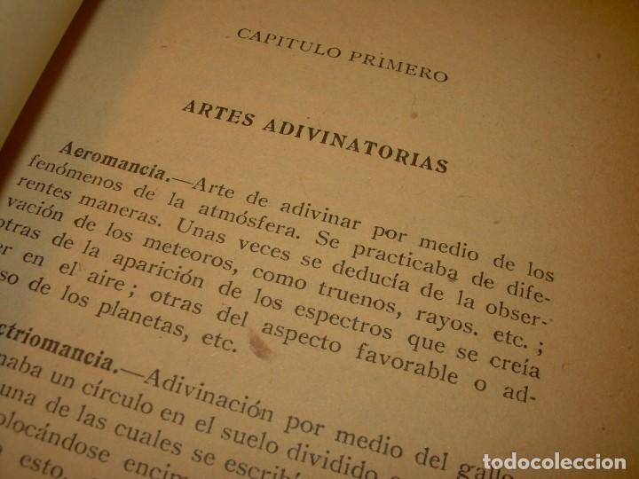 Libros antiguos: ENCICLOPEDIA DE LAS CIENCIAS OCULTAS..1936. - Foto 4 - 218780502