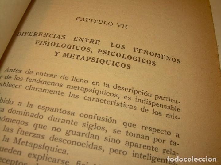 Libros antiguos: ENCICLOPEDIA DE LAS CIENCIAS OCULTAS..1936. - Foto 5 - 218780502
