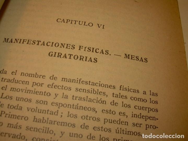 Libros antiguos: ENCICLOPEDIA DE LAS CIENCIAS OCULTAS..1936. - Foto 6 - 218780502
