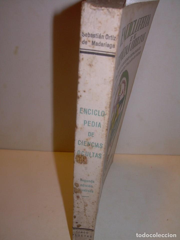 Libros antiguos: ENCICLOPEDIA DE LAS CIENCIAS OCULTAS..1936. - Foto 9 - 218780502