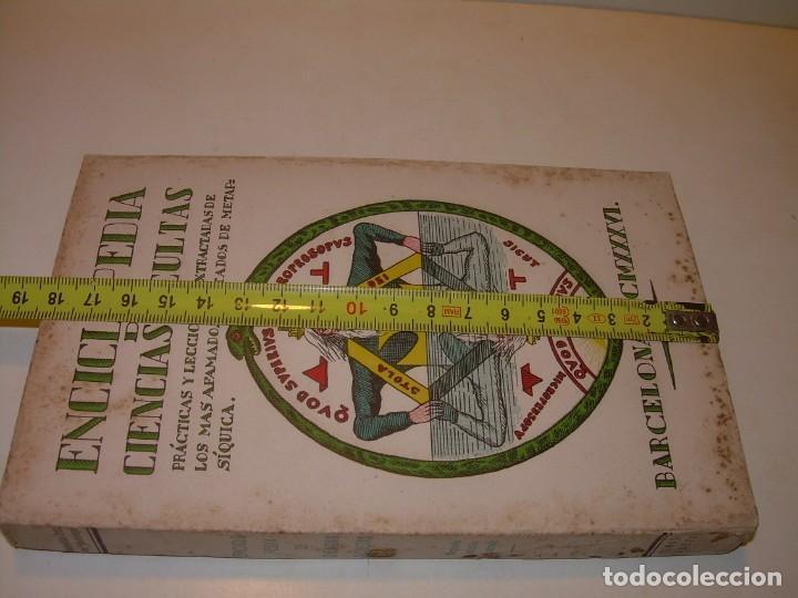 Libros antiguos: ENCICLOPEDIA DE LAS CIENCIAS OCULTAS..1936. - Foto 11 - 218780502