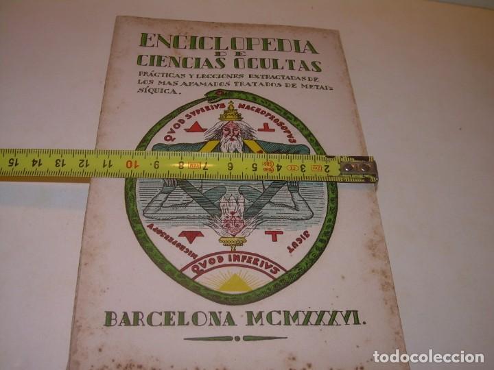 Libros antiguos: ENCICLOPEDIA DE LAS CIENCIAS OCULTAS..1936. - Foto 12 - 218780502