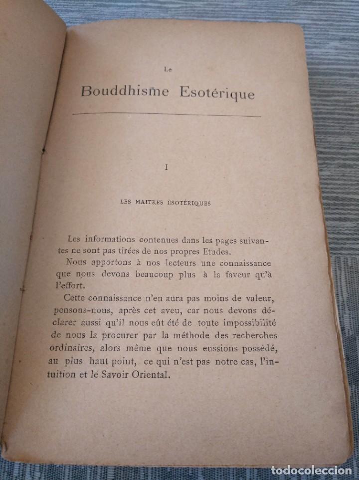 Libros antiguos: MUY RARO: EL BUDISMO ESOTÉRICO O EL POSITIVISMO HINDÚ (PARIS, 1890) - Foto 4 - 221443401