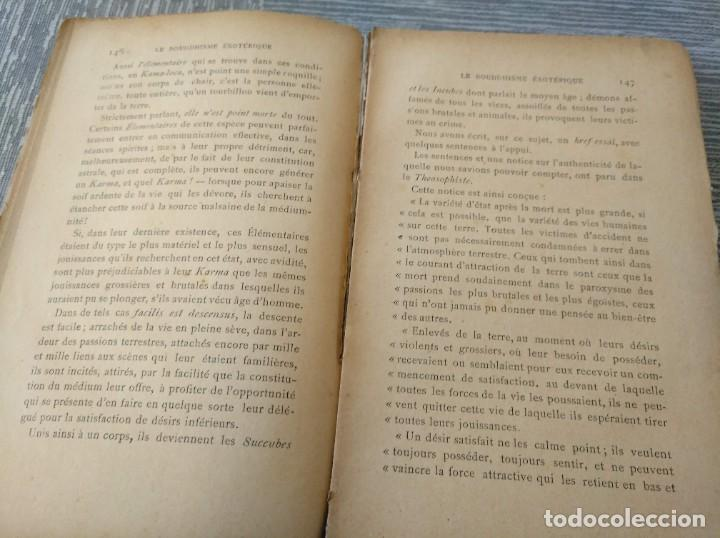Libros antiguos: MUY RARO: EL BUDISMO ESOTÉRICO O EL POSITIVISMO HINDÚ (PARIS, 1890) - Foto 6 - 221443401