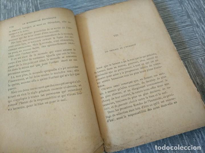 Libros antiguos: MUY RARO: EL BUDISMO ESOTÉRICO O EL POSITIVISMO HINDÚ (PARIS, 1890) - Foto 7 - 221443401