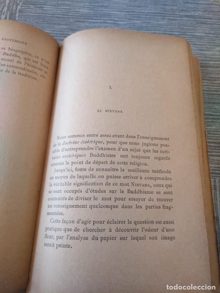 Libros antiguos: MUY RARO: EL BUDISMO ESOTÉRICO O EL POSITIVISMO HINDÚ (PARIS, 1890) - Foto 8 - 221443401